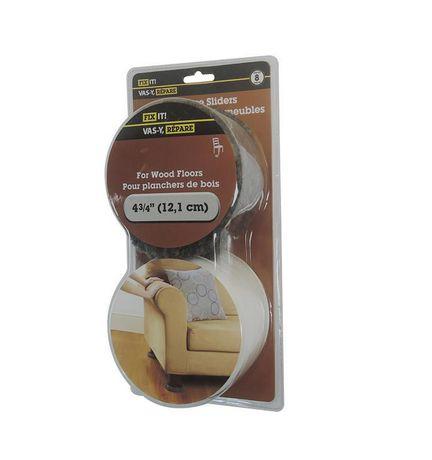 FIX IT Furniture Sliders For Wood Floors