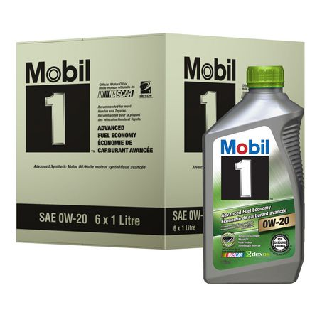 Mobil 1 Advanced Fuel Economy Advanced Synthetic Motor