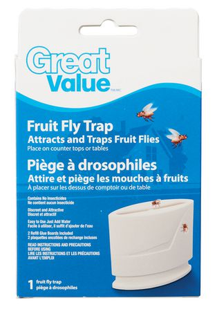 Great Value Fruit Fly Trap | Walmart.ca