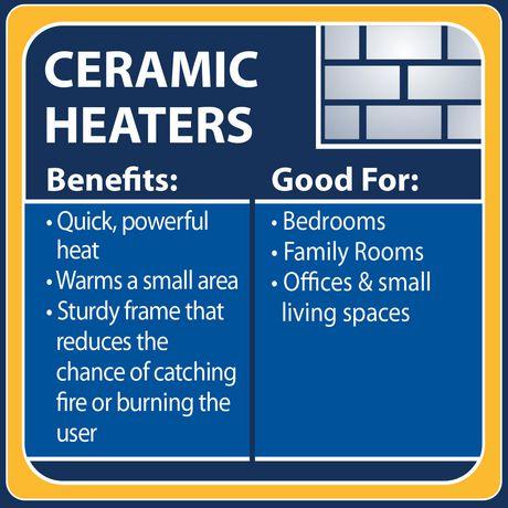 Bionaire Ceramic Tabletop Heater Bch920 Cn Walmart Ca