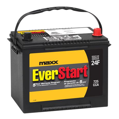 Walmart's quality automotive batteries are supplied by Johnson Controls, the world's largest lead-acid battery manufacturer. • What is a core fee? Depending on the state you live in, if you do not bring in your old lead-acid battery to exchange when purchasing a new battery, you will be charged a core fee.
