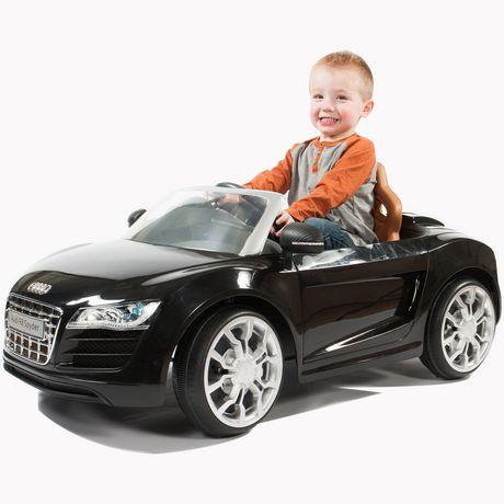 6v Rollplay Audi R8 Spyder Black Walmart Ca