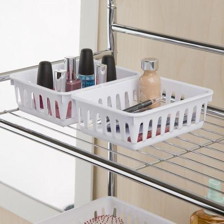 Petit plateau d 39 entreposage de sterilite en blanc for Entreposage de meuble