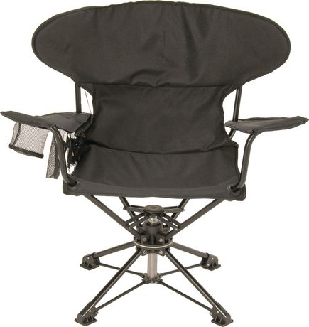 Quot Revolve Quot Swivel Folding Chair Walmart Canada
