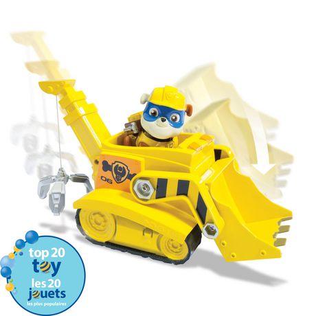 fr ip figurine et vhicule camion grue super ruben de la pat patrouille
