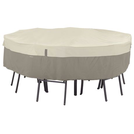Couverture de table ronde et chaises de belltown classic for Table exterieur walmart