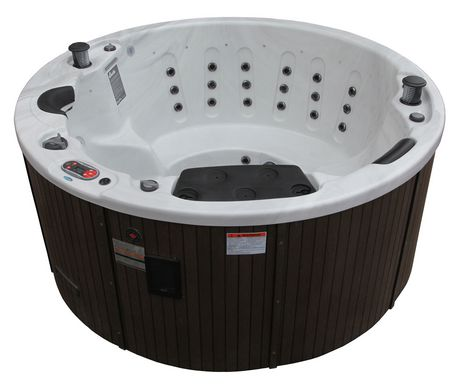 canadian spa co ottawa 38 jet hot tub. Black Bedroom Furniture Sets. Home Design Ideas