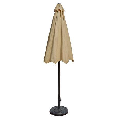 parasol octogonal auto inclinable de style march de 2 76. Black Bedroom Furniture Sets. Home Design Ideas