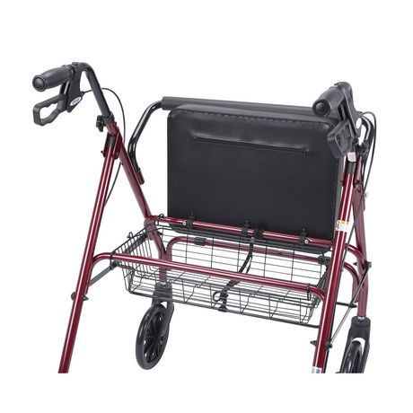 Drive Medical Heavy Duty Bariatric Rollator With Large