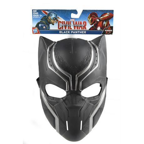 Masque de black panther la guerre civile de captain america par marvel - Masque de captain america ...