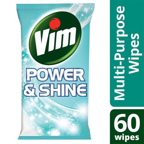 Vim Wipes Antibacterial 60Ct