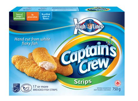 High liner captain 39 s crew breaded fish strips for How much are fish at walmart
