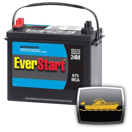 Everstart Marine Battery Starting Power Walmart Canada
