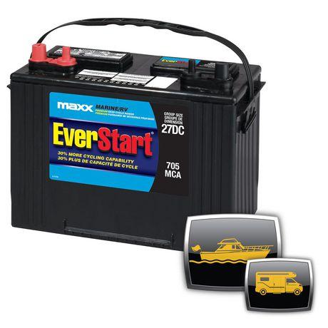 EverStart Marine/RV Battery Premium Deep Cycle Power MAXX ...