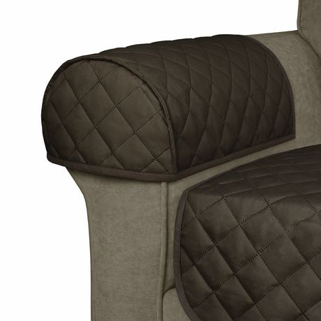 Mainstays prot ge mobilier en microfibre reversible pour for Protege accoudoir de canape