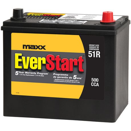 Walmart Car Battery Warranty >> [Walmart Canada] EverStart Battery MAXX 51R (Honda/Acura) Price drop to $94.97 - RedFlagDeals ...