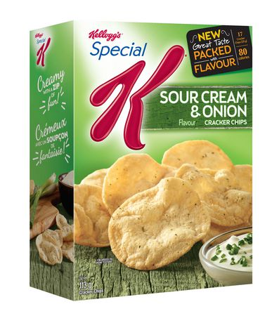 kellogg 39 s special k sour cream and onion cracker chips. Black Bedroom Furniture Sets. Home Design Ideas