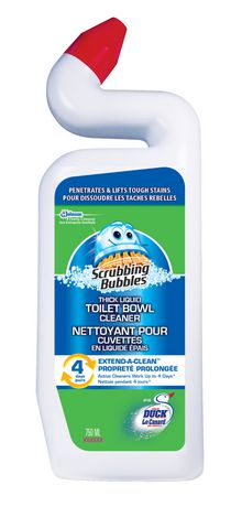 Scrubbing Bubbles Toilet Bowl Cleaner With Extend A Clean