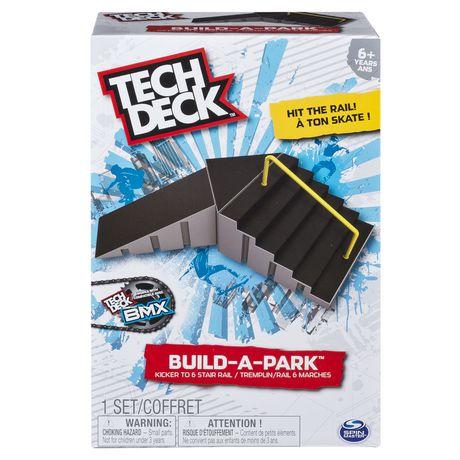Tech Deck Build A Park Kicker