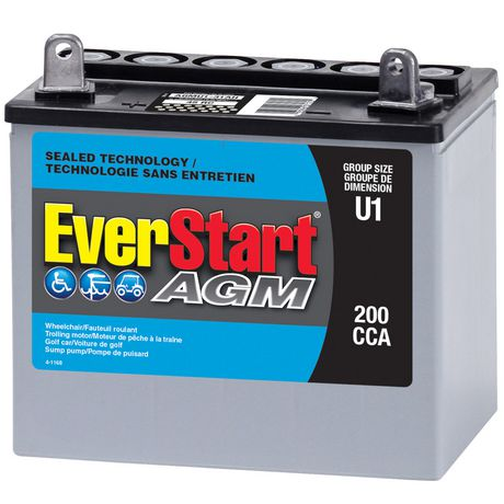 Everstart Deep Cycle Battery Walmart Ca