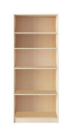 Upc 771458430724 Mainstays 5 Shelf Standard Wood