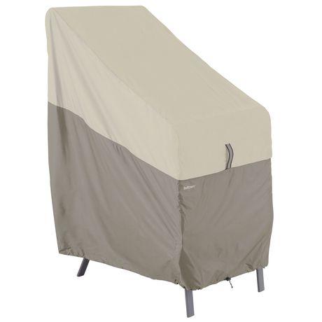couverture de chaise empilable de belltown classic accessories grise. Black Bedroom Furniture Sets. Home Design Ideas