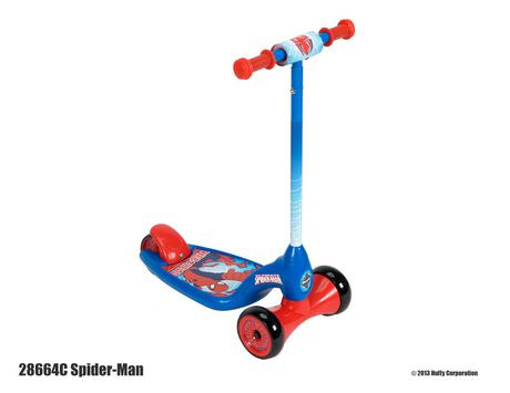 patinette trois roues spider man de marvel. Black Bedroom Furniture Sets. Home Design Ideas