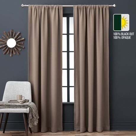 Black out window curtains