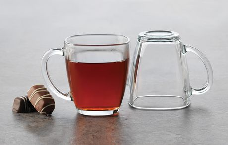 Libbey Square Coffee Mug Glasses | Walmart Canada