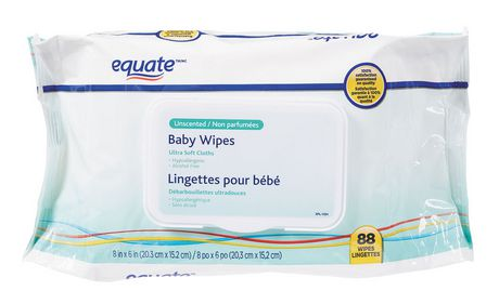 Equate Unscented Ultra Soft Baby Wipes Walmart Canada
