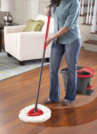 Easy Wring Spin Mop Amp Bucket System Walmart Ca