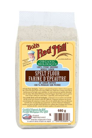 Bob's Red Mill Organic Spelt Flour, 680 G | Walmart Canada