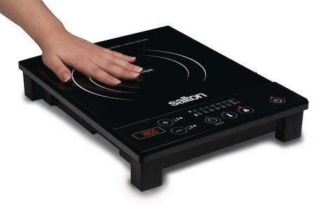 salton portable induction cooktop. Black Bedroom Furniture Sets. Home Design Ideas