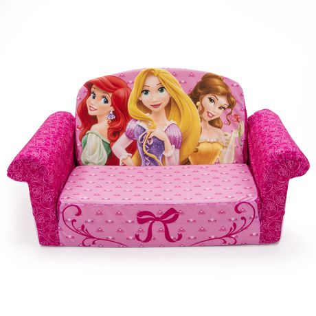 marshmallow canap d pliable princesse disney. Black Bedroom Furniture Sets. Home Design Ideas