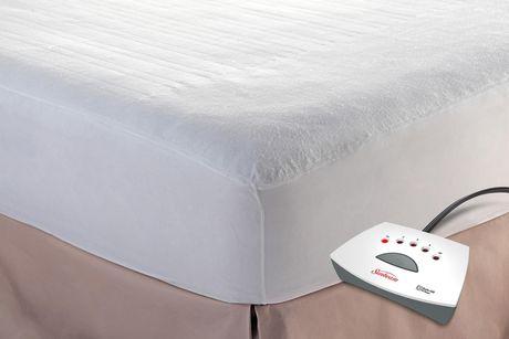 couvre matelas chauffant sunbeam. Black Bedroom Furniture Sets. Home Design Ideas