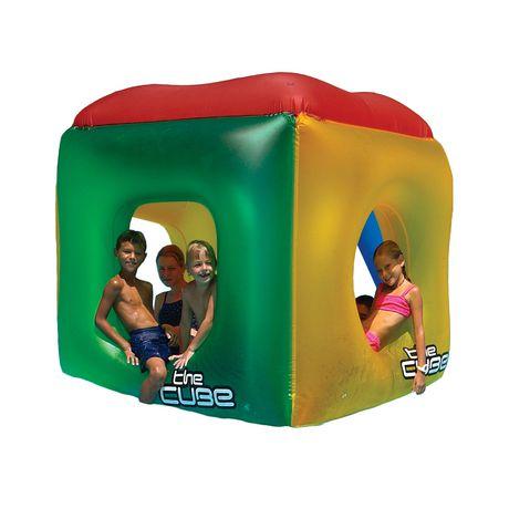Cube gonflable pour piscine de swimline walmart canada - Walmart matelas gonflable ...