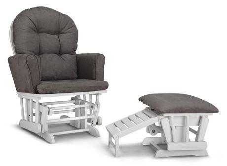 chaise ber ante semi rembourr e et tabouret d allaitement parker de graco. Black Bedroom Furniture Sets. Home Design Ideas
