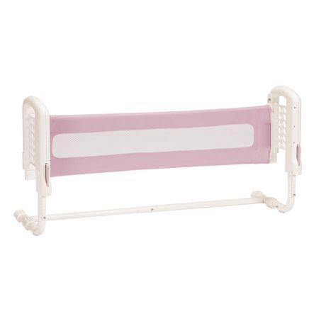 barri re de lit dessus de matelas rose de safety 1st. Black Bedroom Furniture Sets. Home Design Ideas