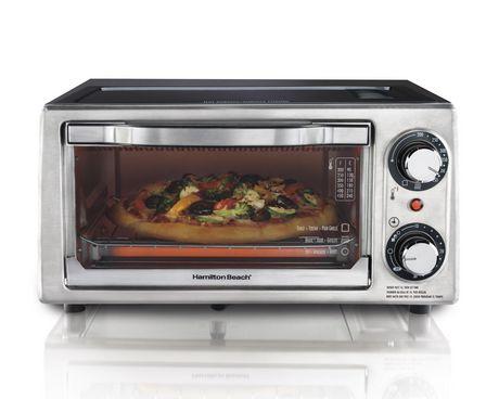 Hamilton Beach? 4-Slice Toaster Oven Walmart.ca