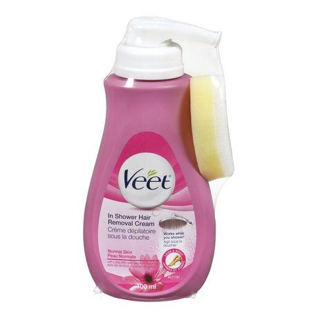 Veetmd cr me d pilatoire sous la douche pour peau normale - Veet creme depilatoire sous la douche ...