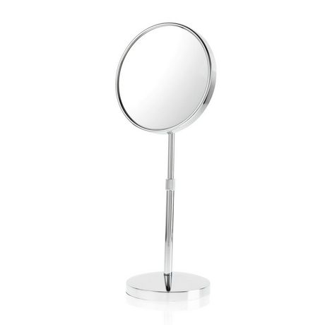 Miroir extensible grossissant en plaqu chrome de danielle for Miroir extensible