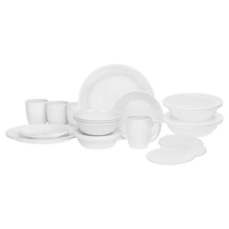 [Walmart]Corelle dinnerware 24pc $34.86