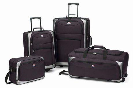 American Tourister 4pc Luggage Set Walmart Ca