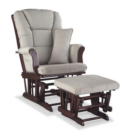 Storkcraft premium glider and ottoman for Liquidation chaise bercante