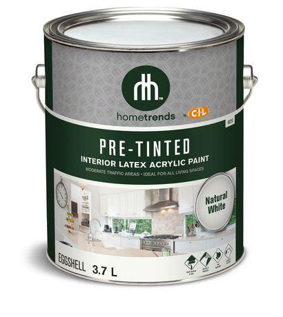 hometrends by cil pre tinted interior latex acrylic paint