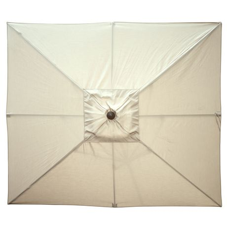 parasol rectangulaire de style march de 2 4 x 3 m 8 x 10 pi de couleur champagne caspian d. Black Bedroom Furniture Sets. Home Design Ideas