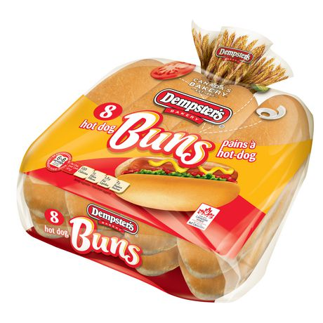 Dempster's® Originals Plain Hot Dog Buns   Walmart.ca