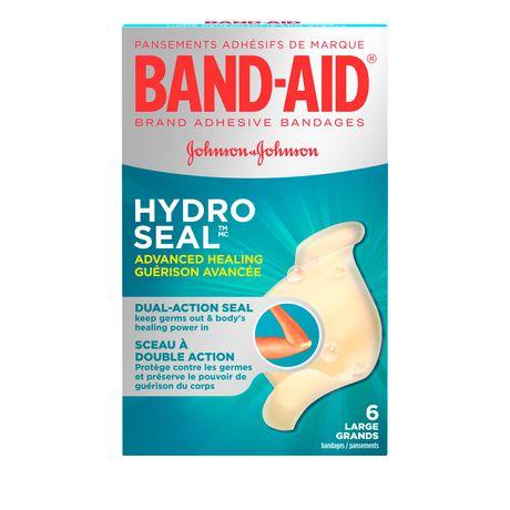 Band aid advanced healing bandages large