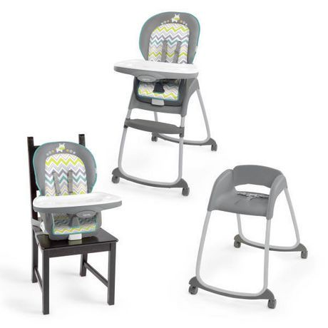 Ingenuity ridgedale trio 3 in 1 baby high chair for Chaise 4 en 1