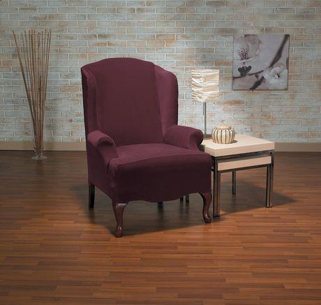 Housse extensible pour fauteuil oreilles eastwood de for Housse fauteuil a oreilles